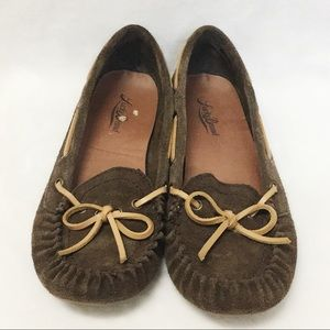 LUCKY BRAND ABELLE 2 MOCCASINS SIZE 8M